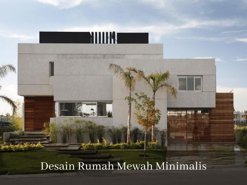 Desain Rumah Mewah Minimalis sinan-arsitek.com