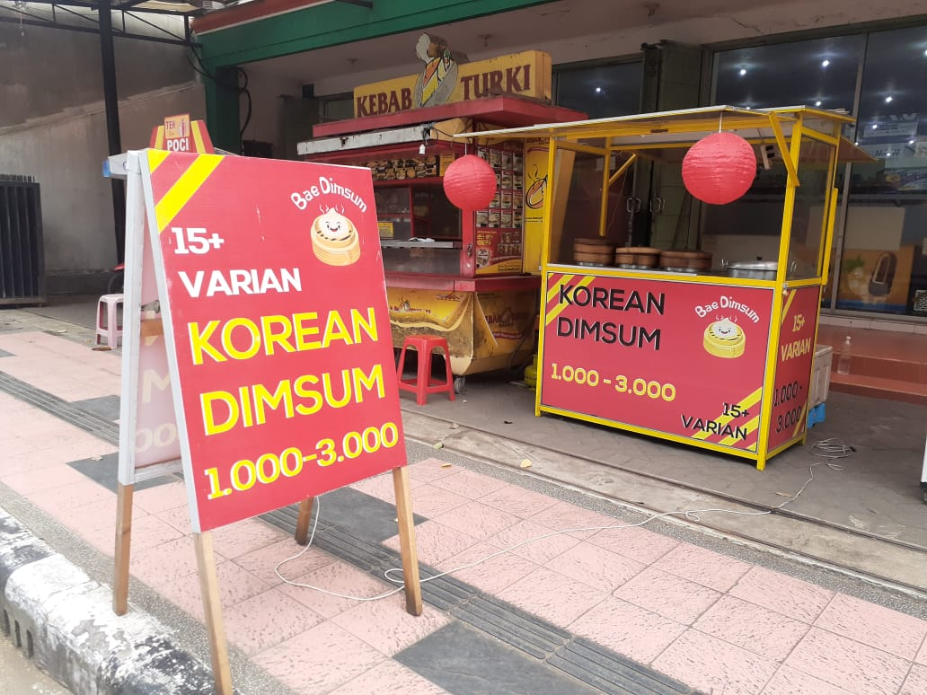 Korean dimsum Blitar