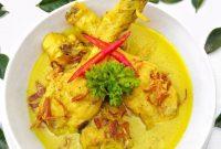 cara masak opor ayam kuning santan