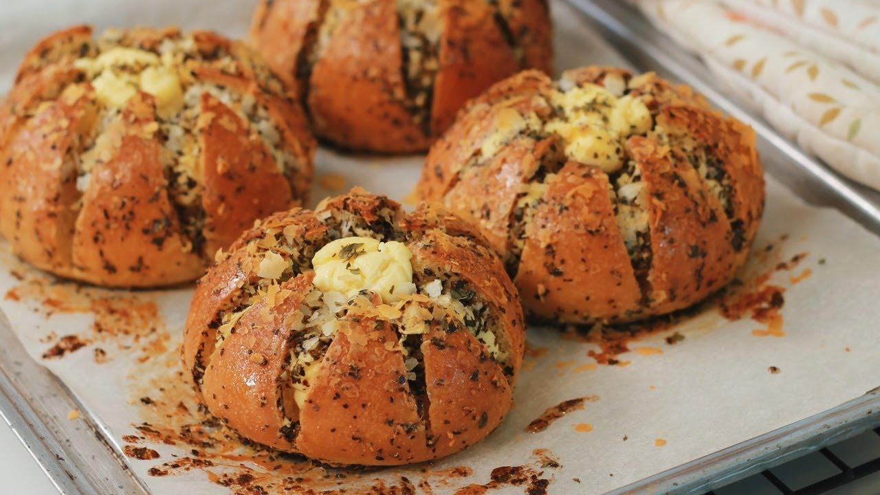 Cara Membuat Roti Garlic Korea